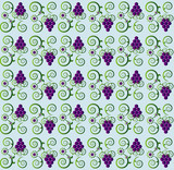 pattern with grape seamless texture