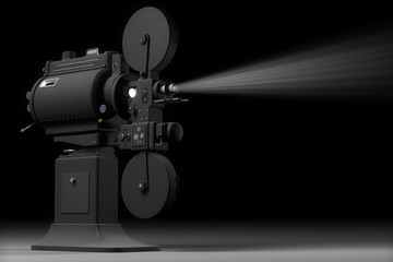 Industrial Movie Projector