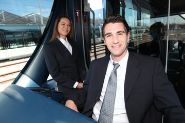 tramway driver