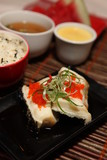 Fototapety Food - Gindara Sakamushi