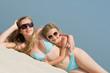 Summer vacation -  girls on the beach portrait