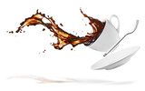 coffee splash - 33132237