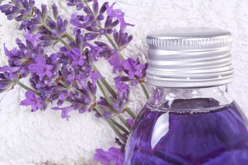 Relaxtion with lavender
