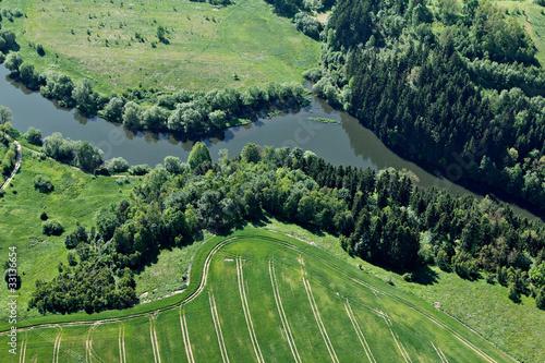 Rivière à Siedlęcin, Pologne