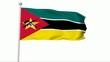 Fahne Mosambik PAL