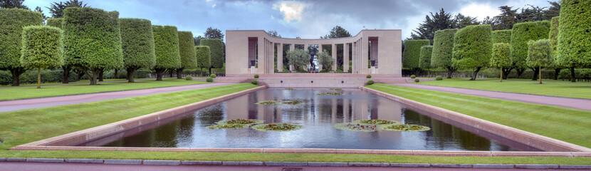 Mémorial cimetière américain - Omaha Beach