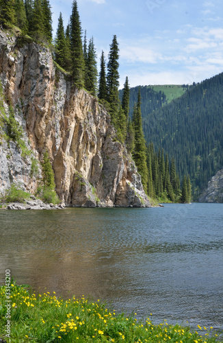 Kolsay Lake in Kazakhstan