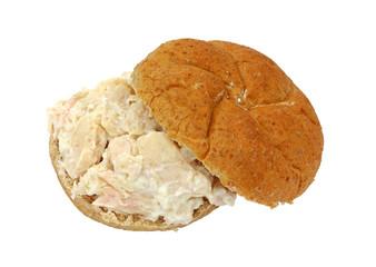 Chicken sandwich whole wheat bun