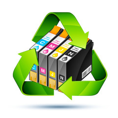 cartouche encre recyclage - recycle inkjet cartridge