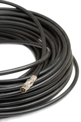 Coaxial cable and tv Connector
