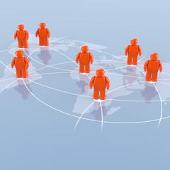 Global Player - Geschäftspartner und internationales Netzwerk