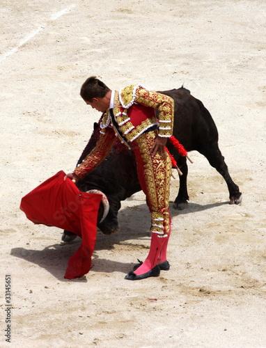 Staande foto Stierenvechten corrida