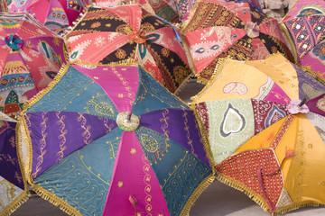 colorful umbrellas, Jaipur,Rajasthan,India