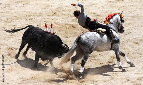 Deurstickers Stierenvechten corrida