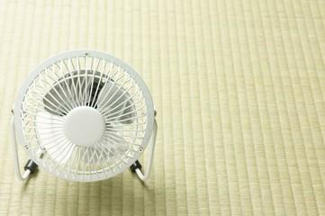 扇風機と畳