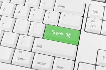 Keyboard with green key Repair