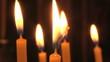 Постер, плакат: свечи в церкви