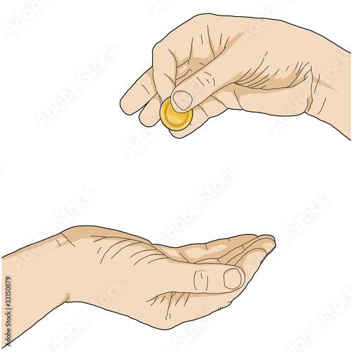 dare dei soldi