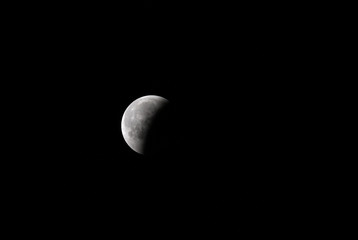 Partial lunar eclipse on 16 June at 00:35, Bahrain