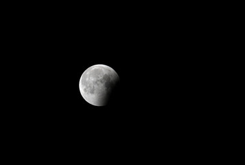 Partial lunar eclipse on 16 June at 00:55, Bahrain