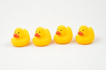 Rubber Duckies in a Row