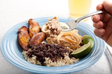 Bite of Cuban Roast Pork