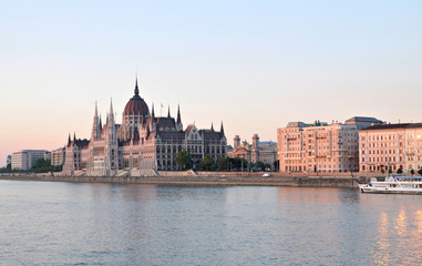 Budapest Parlament Sunset