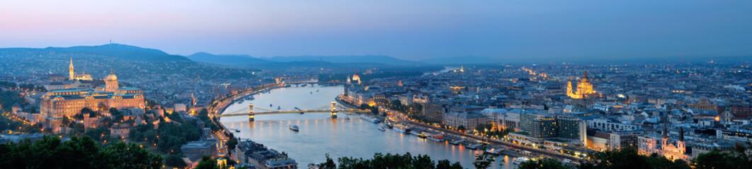 Budapest Panorama Night 1