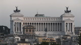Vittoriano Panoramic Sunset - Rome, Italy - HD1080