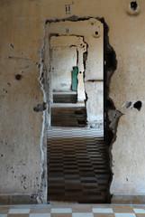 ehemalige Gefängniszellen in Phnom Penh 1