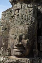 Figur im Tempel Bayon 1