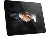 Handshake, Handshaking on Tablet PC Computer