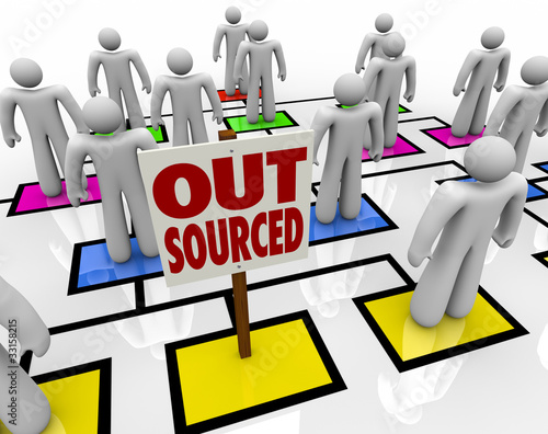 Outsourced - Position Eliminated on Organizational Chart