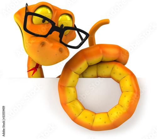 Serpent à lunettes
