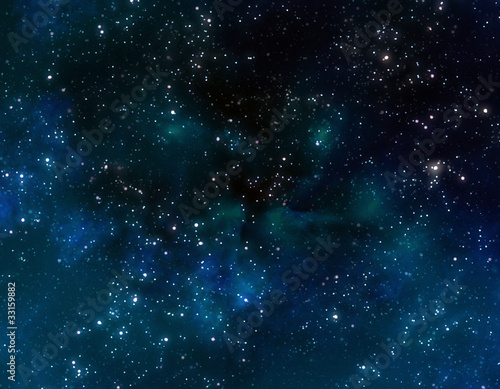 Leinwanddruck Bild deep outer space or starry night sky