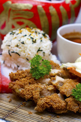 Food - Tori Katsu Curry Rice