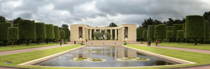 Panorama du mémorial de Colleville