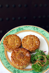 Mooncakes - 3 different mooncakes