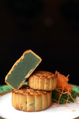 Mooncakes - without egg yolk