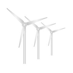 Windräder Vektor