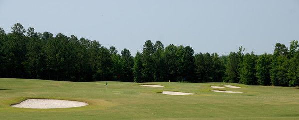 Golf Course Sand Traps Georgia Usa