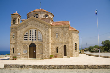 Greek Orthodox church on Cyprus