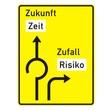 Wegweiser - Kreisverkehr - nach StVO