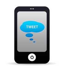 Tweet Mobile Phone