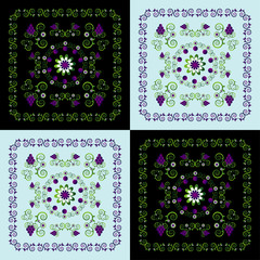 decorative background with pattern