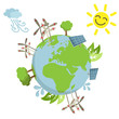 Globe, renewable energy