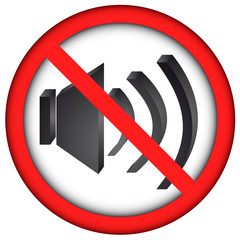 Prohibir ruido