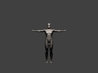 Maschio 3D rendering