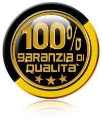 Garanzia di qualità al 100%