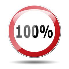 Señal trafico redonda texto 100%